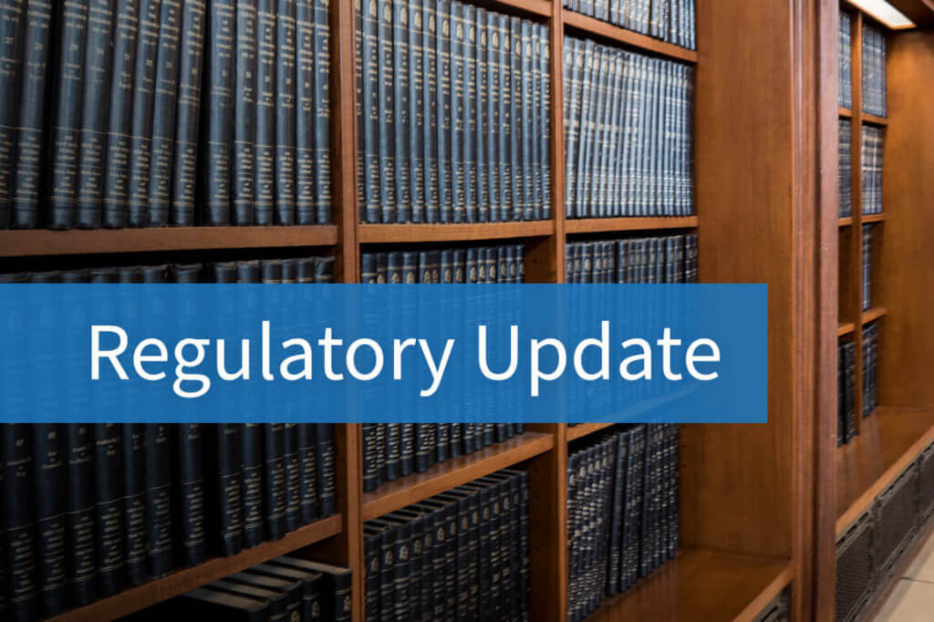 "Text: ""Regulatory Update"""