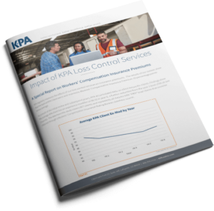 Impact of KPA Loss Control Services booklet