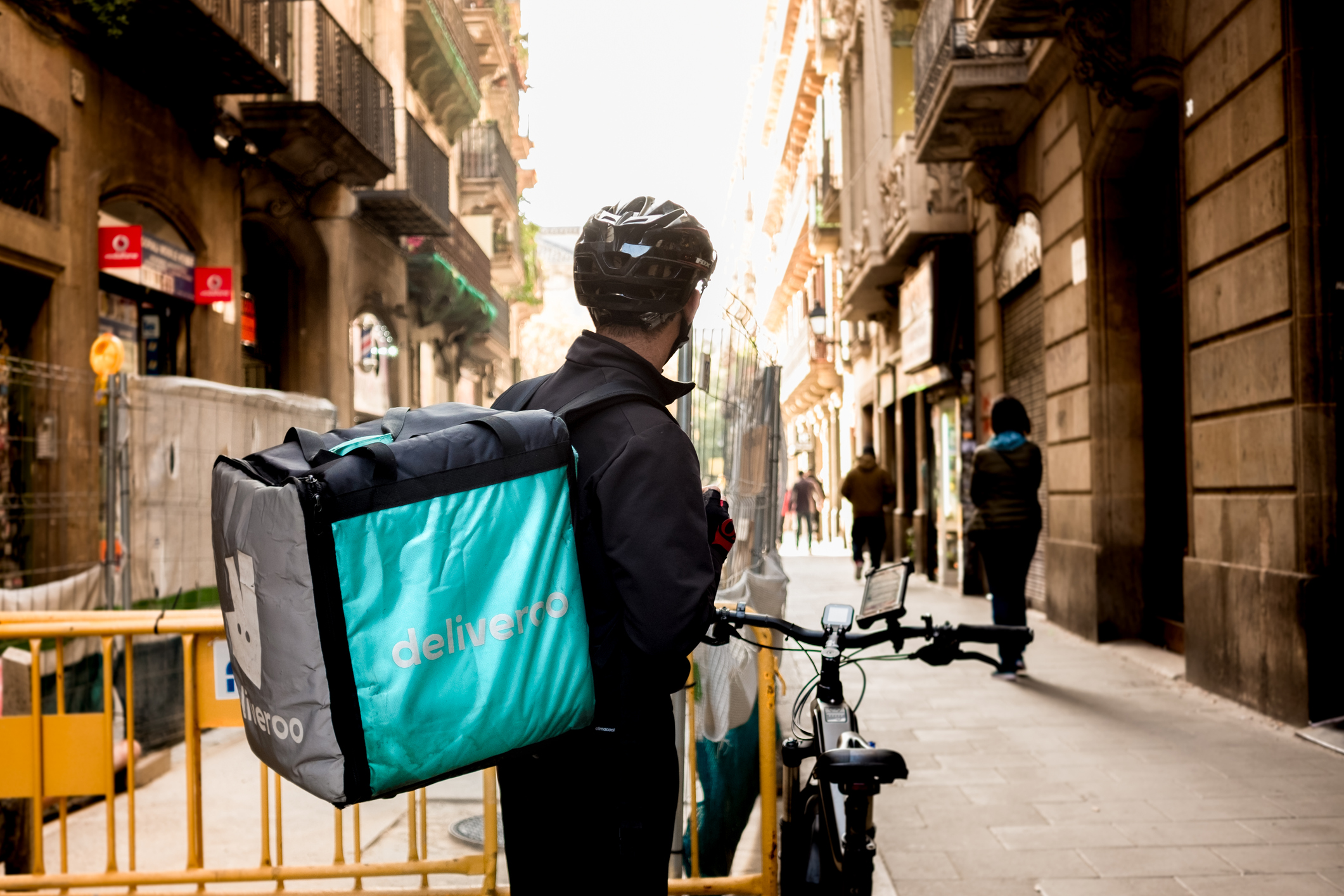 Deliveroo employee