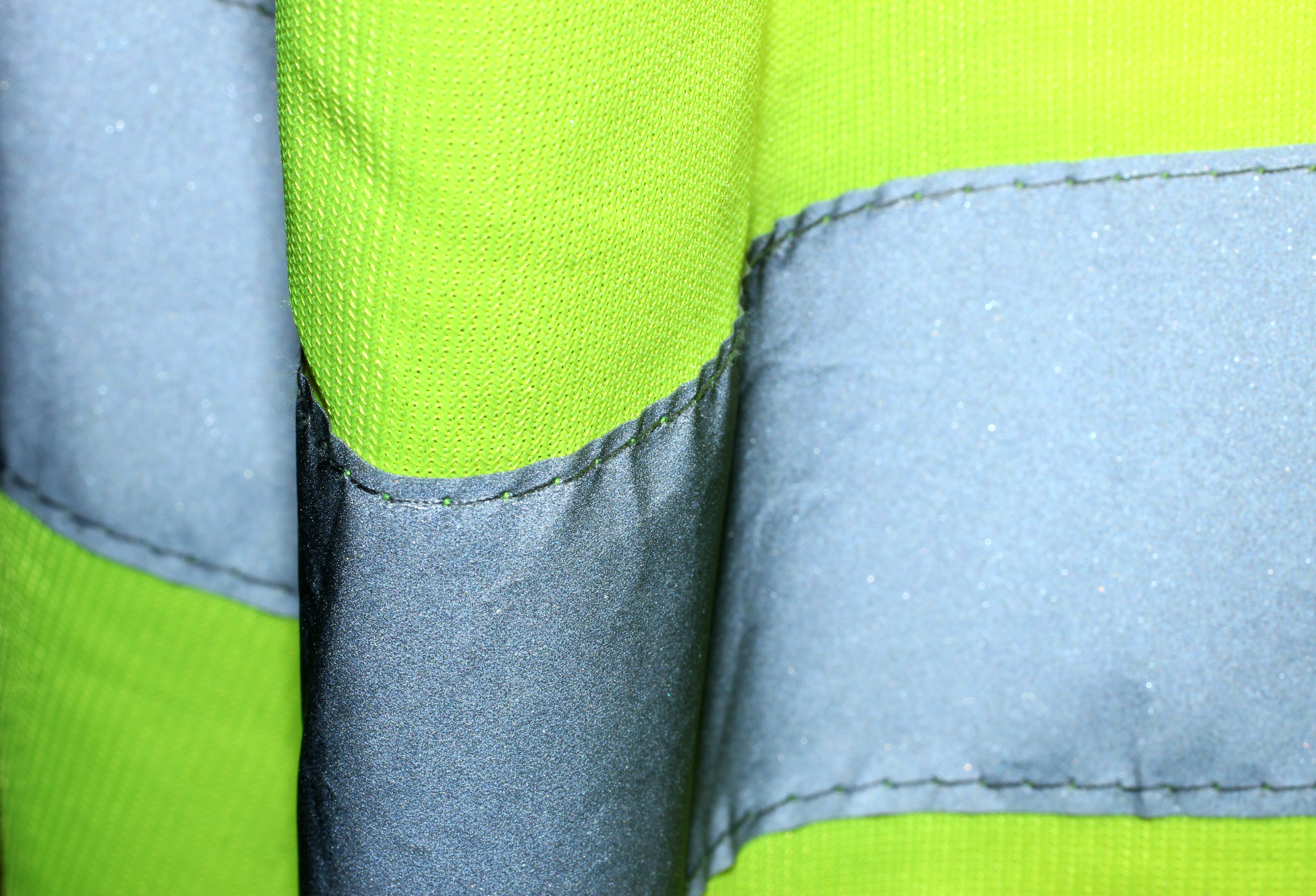 Hi Visibility Jacket Close Up