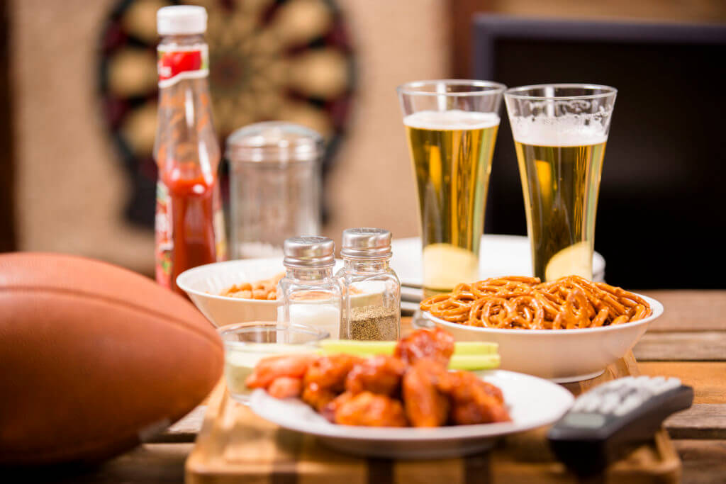 snacks to watch football