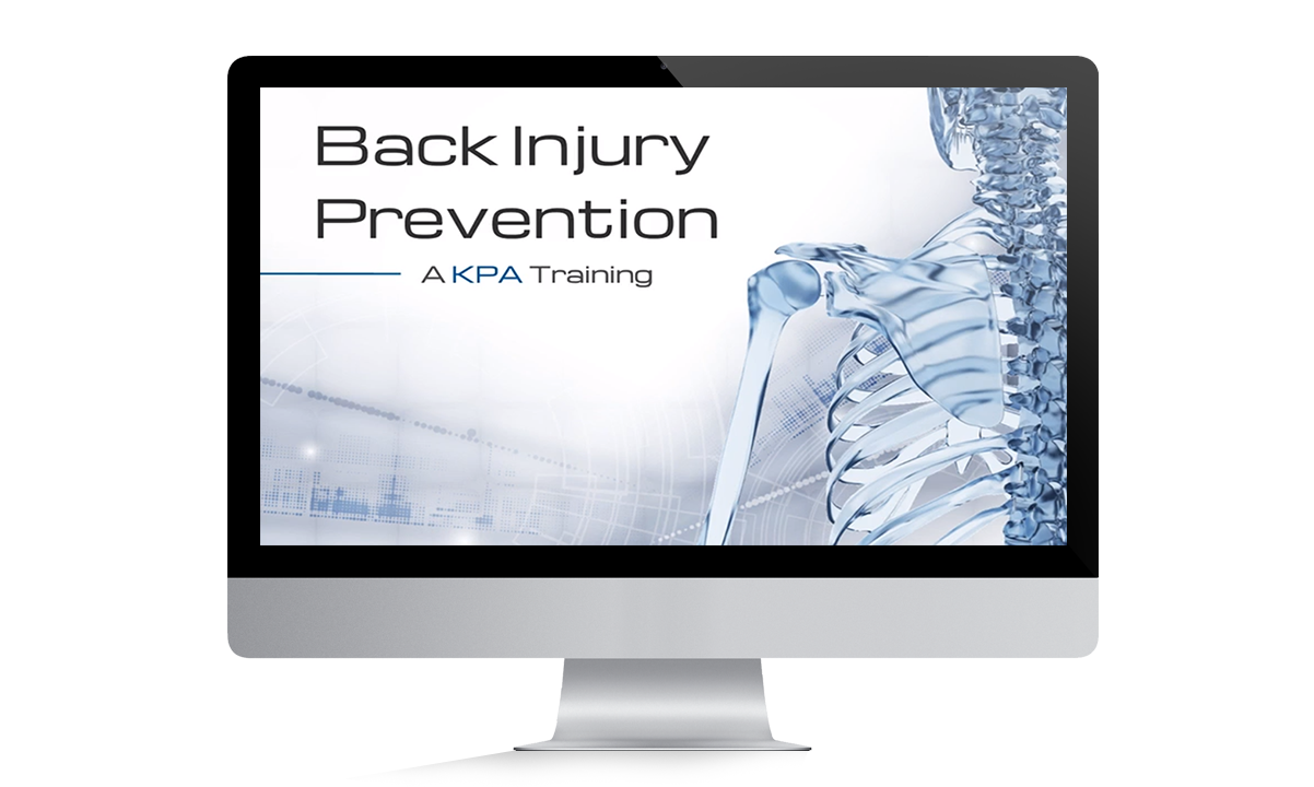 Back Injury Prevention Video Training