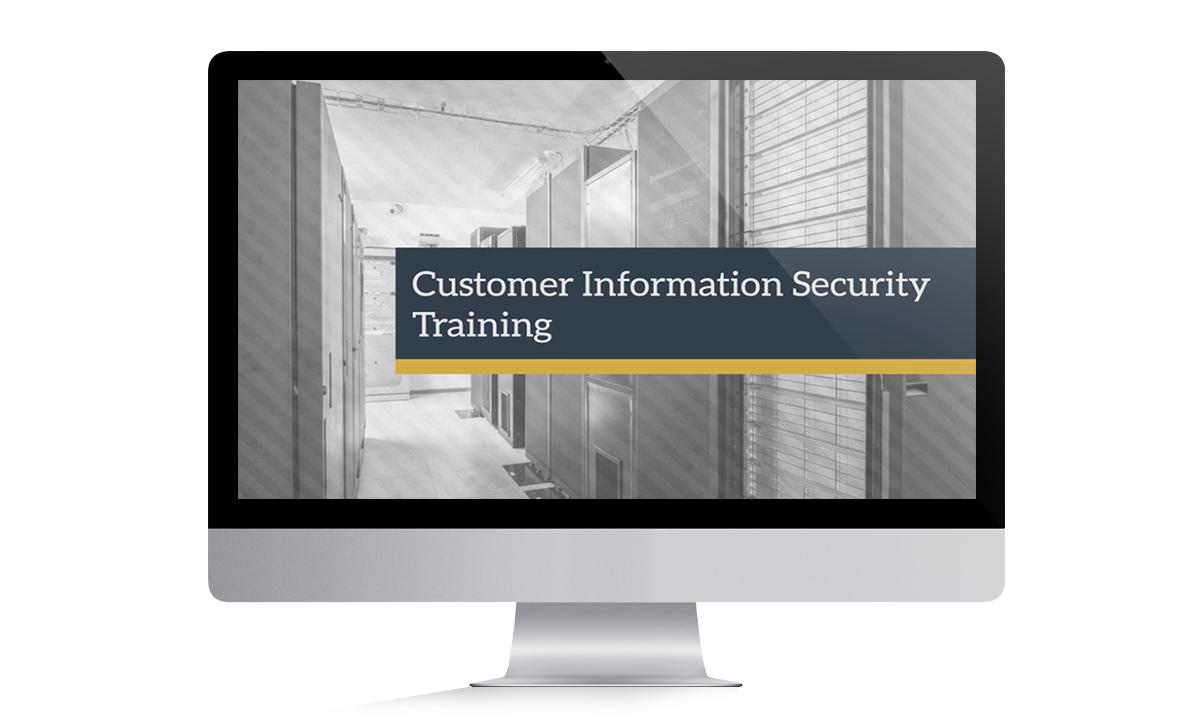 Customer Information Security Training