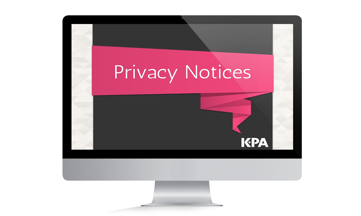 Privacy Notices Training