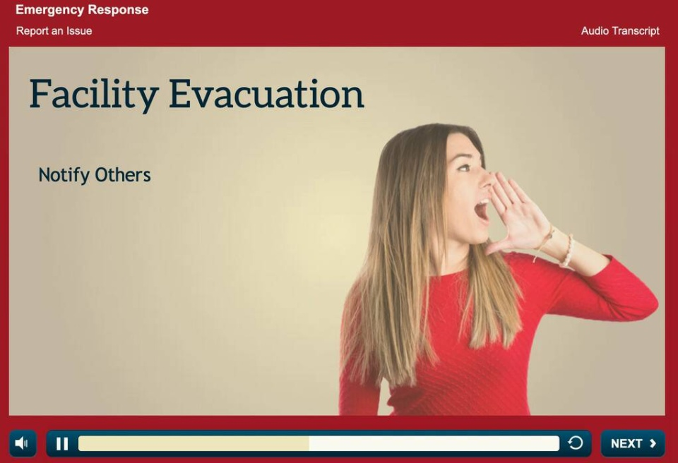 Emergency Response – Facility Evacuation