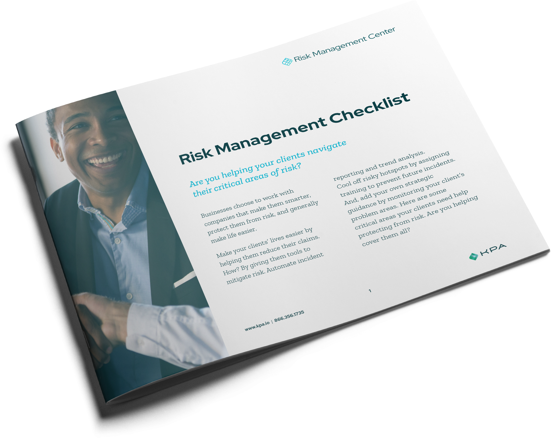 risk management checklist cover