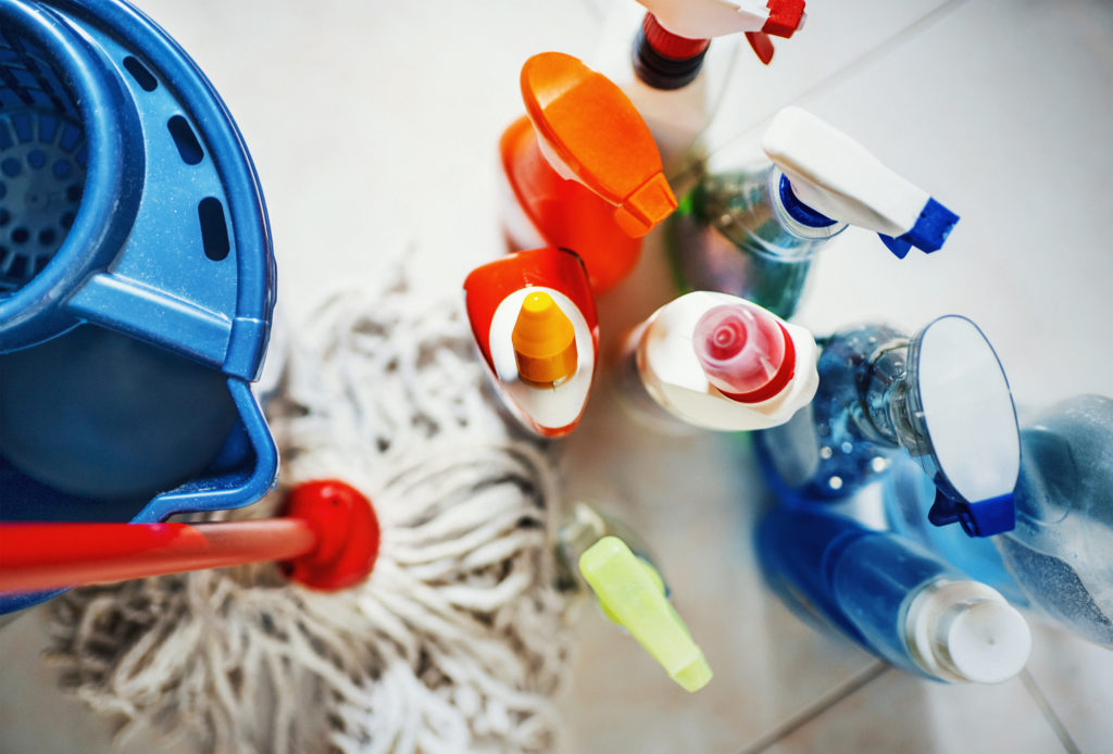 cleaning and sanitizing product