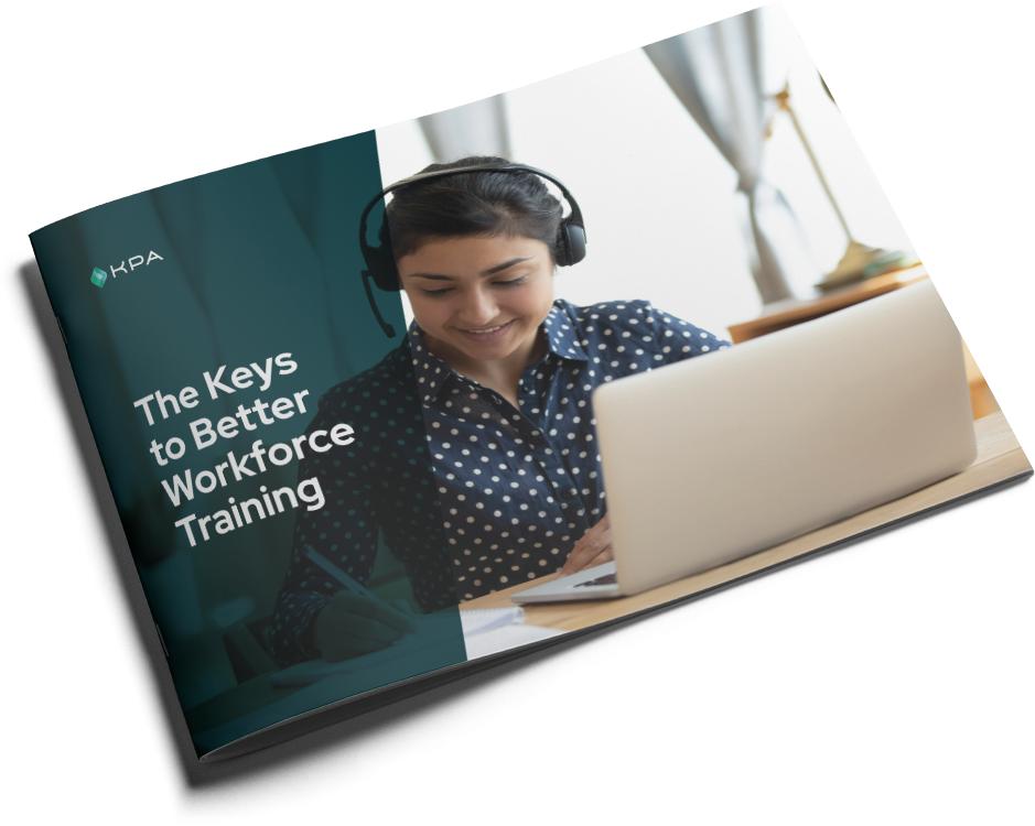 cover of the kpa keys to workforce training ebook