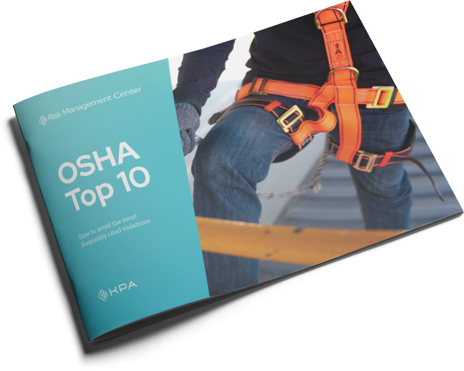 KPA OSHA Top 10 for Brokers Cover