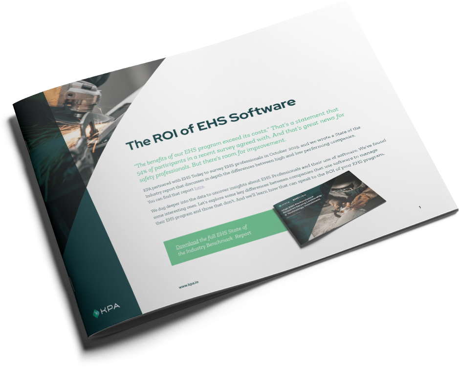 KPA - The ROI of EHS Software