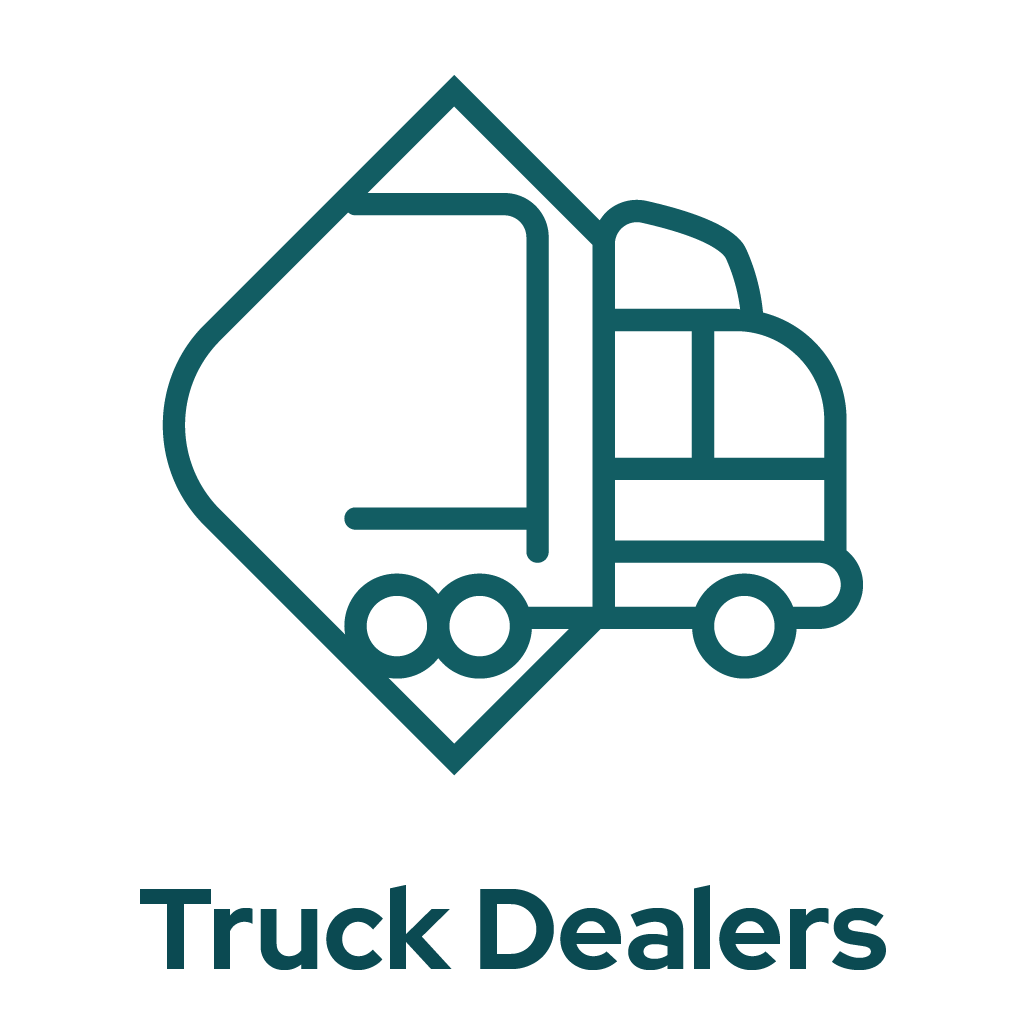 Truck Dealers Icon Graphic