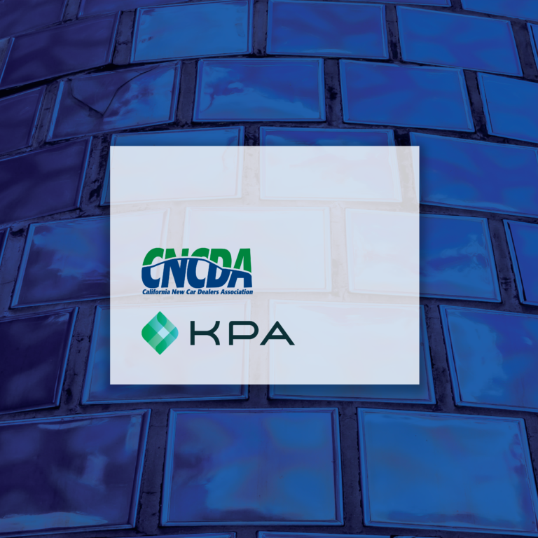 KPA & California New Car Dealers Association Announce EHS Software Partnership