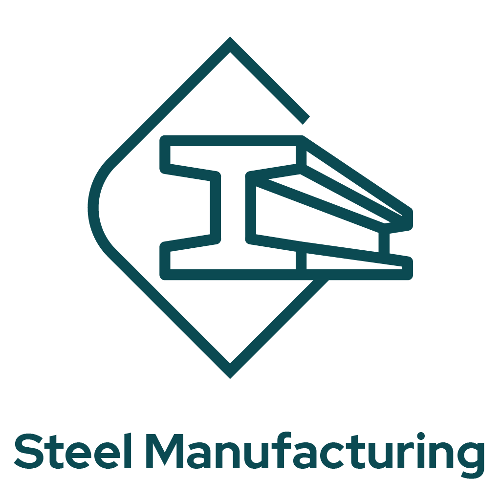 Steel Manufacturing Icon
