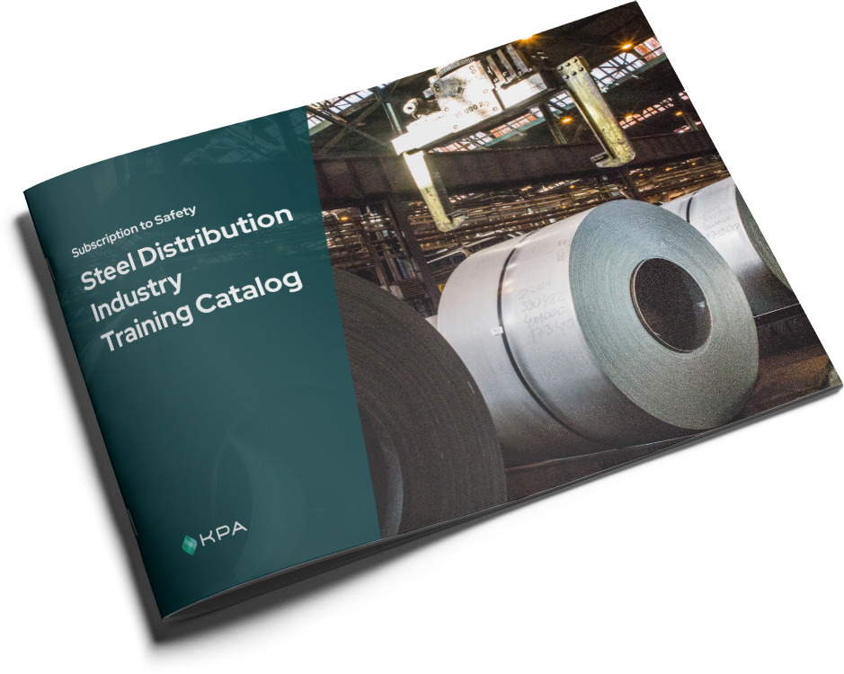 KPA - Subscription to Safety Training Catalog - Steel Distribution Cover