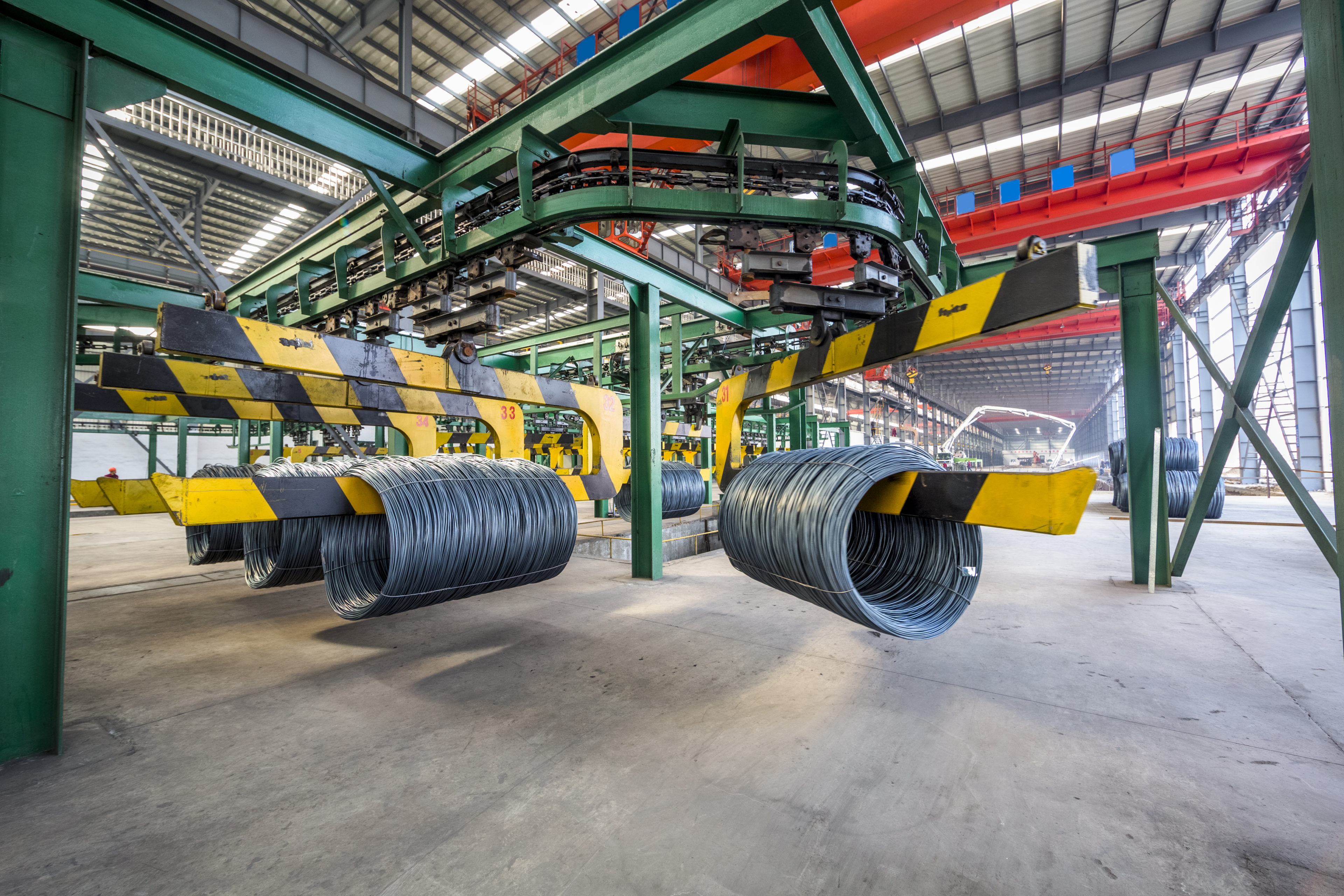 Steel Wire production line