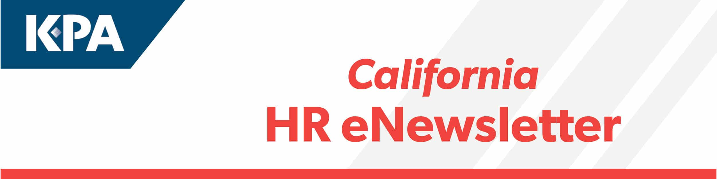 KPA California HR Newsletter — October 2018