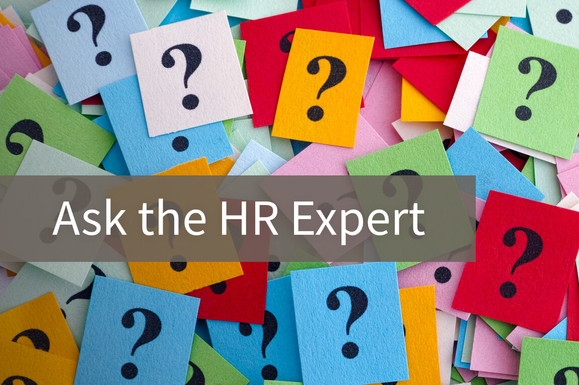 """Text: """"Ask the HR Expert"""""""