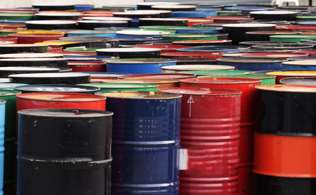 industry oil barrels
