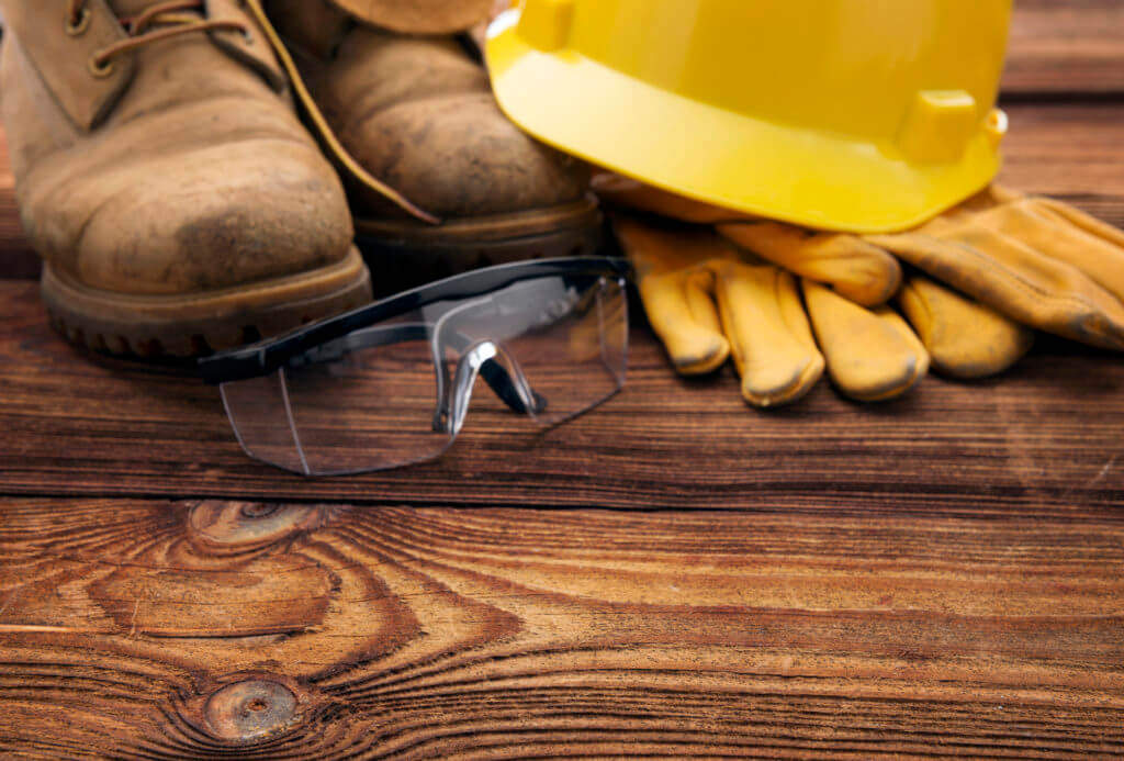 safety wear for construction worker