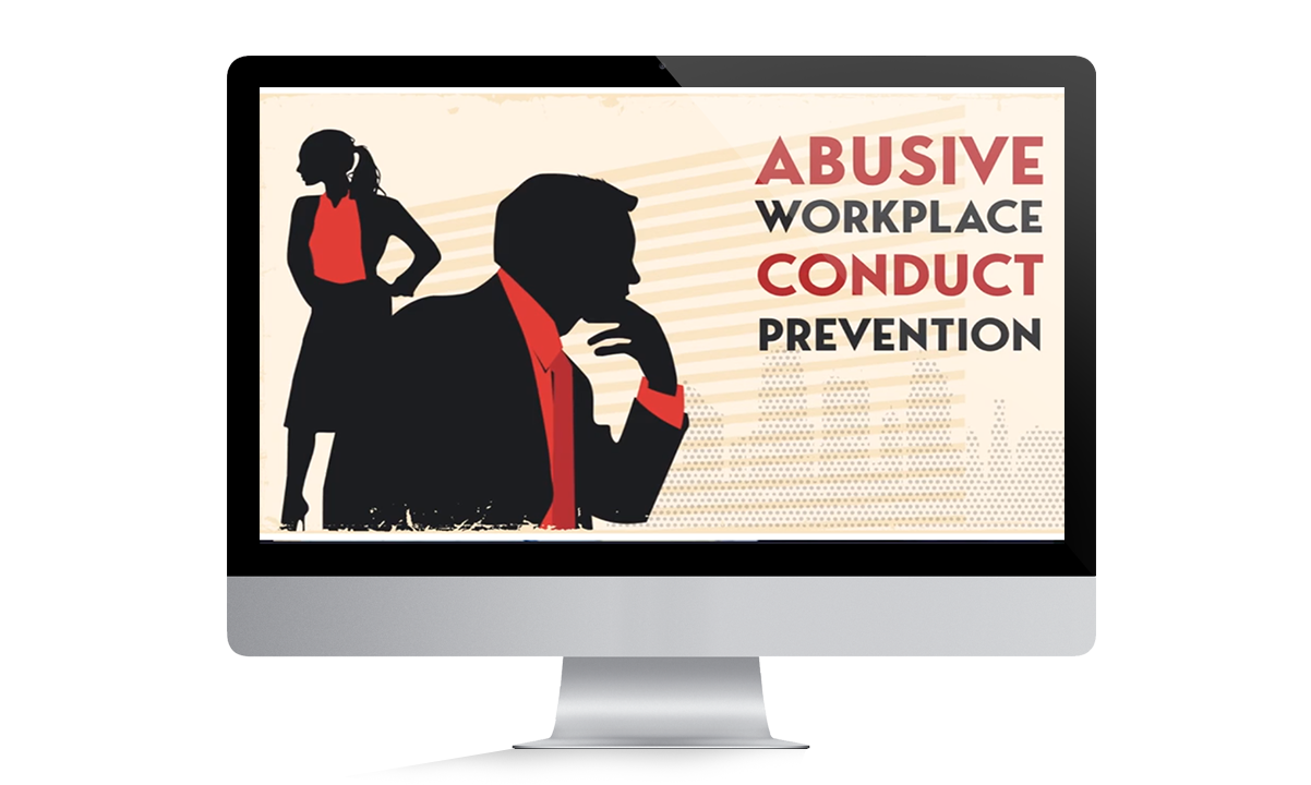 silhouetted male considering abusive workplace conduct prevention