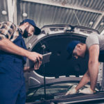 automotive workers