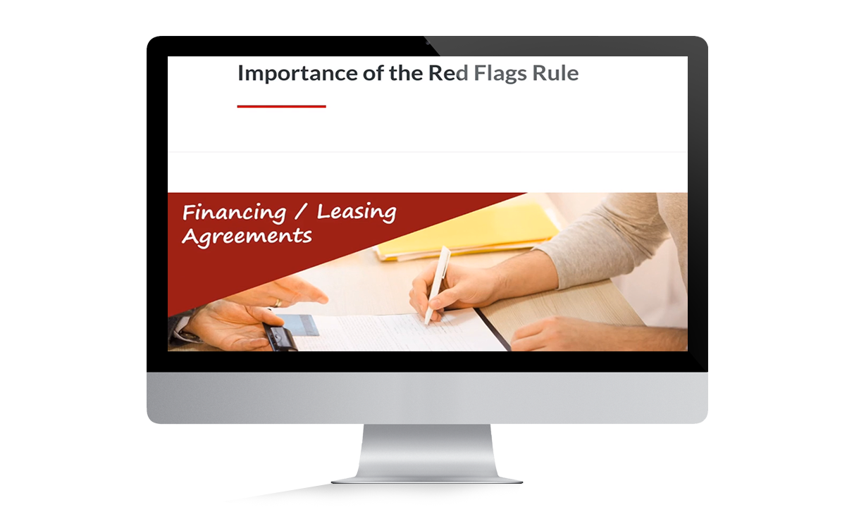 Red Flag Rule Training