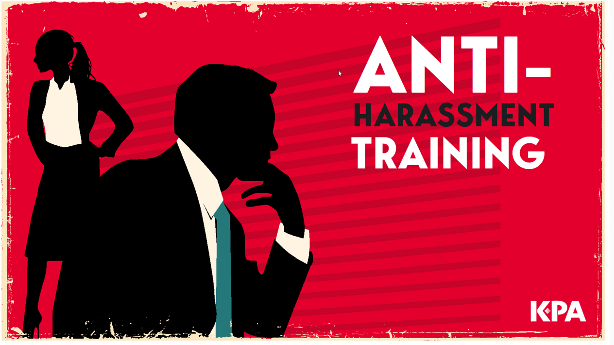 anti-harassment training