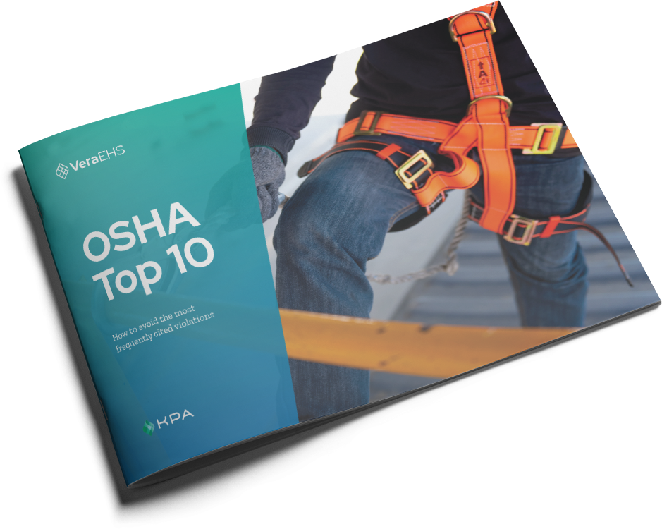 OSHA Top 10 eBook cover