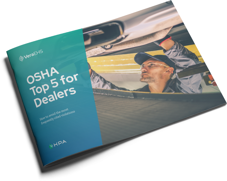 OSHA Top 5 for Dealers eBook Cover