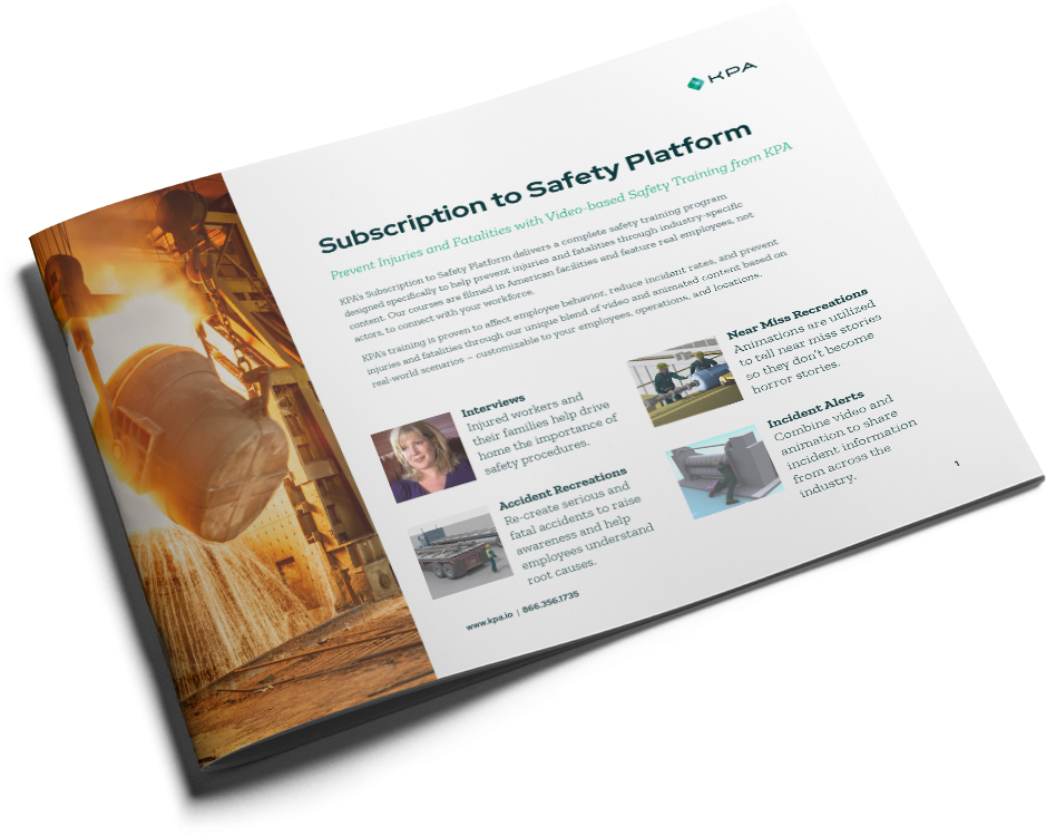 KPA - Subscription to Safety Platform Datasheet - Cover