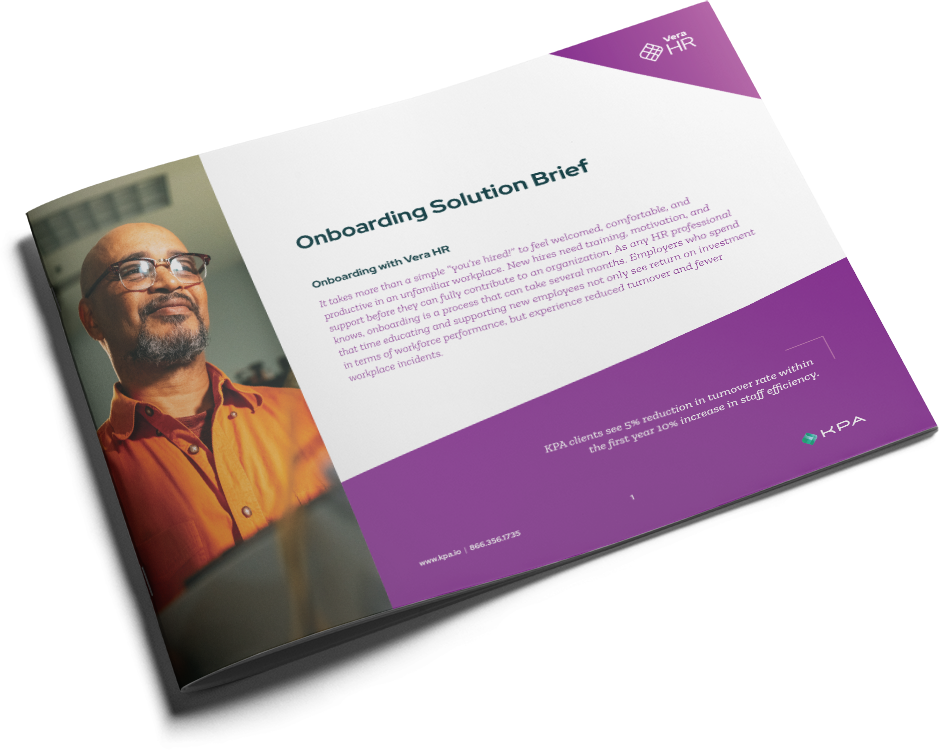 Onboarding Solution Brief Cover