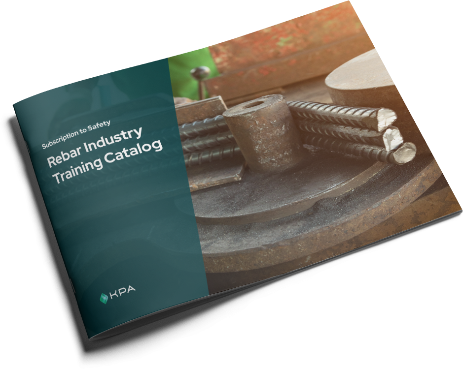 KPA - Subscription to Safety Training Catalog - Rebar Cover