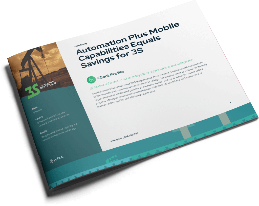 KPA - 3S Automation Equals Savings Case Study Cover