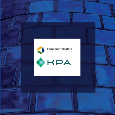 KPA Partners with Equipment Dealers Association